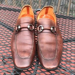 Gently used magnanni for Neiman Marcus 9M Loafers